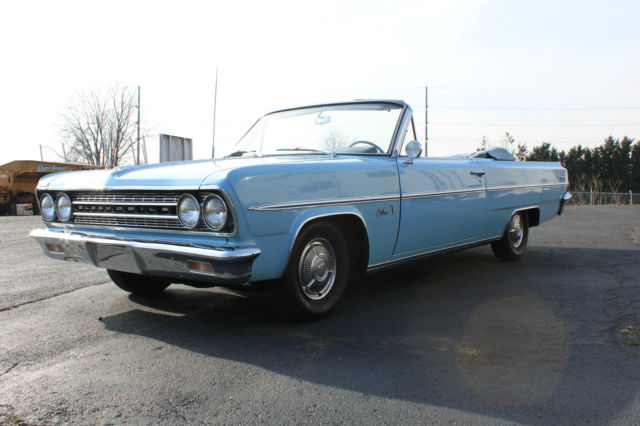 1963 Oldsmobile Cutlass 1963 OLDSMOBILE CUTLASS CONVERTIBLE