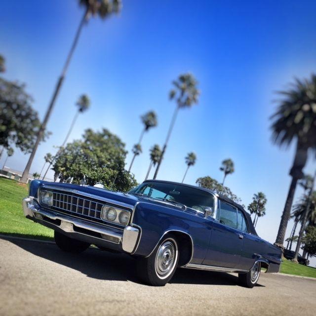 Rare 1966 Chrysler Imperial Convertible 440 V8 Better than