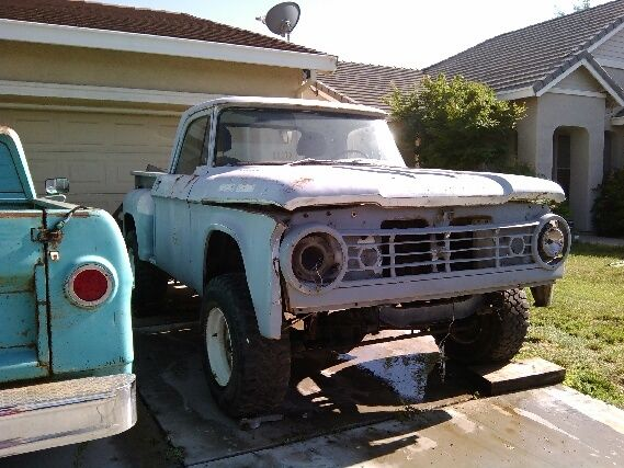 1966 Dodge Power Wagon SWEPTLINE