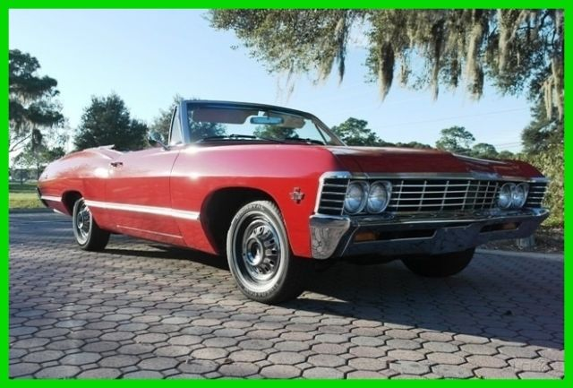 1967 Chevrolet Impala Power Convertible/Air Conditioning/Power Steering