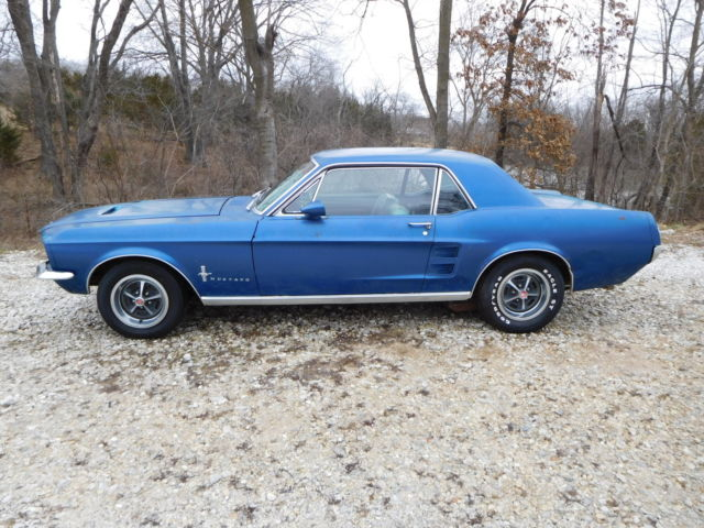 1967 Ford Mustang Big Block 4-Speed S-Code
