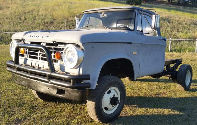 RARE! 1967 W300 Power Wagon V8 Dana 70 Front/Rear Power