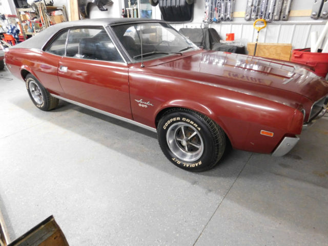 Rare 1968 Amc Javelin Sst 390 1 Of 871 Project Car Complete