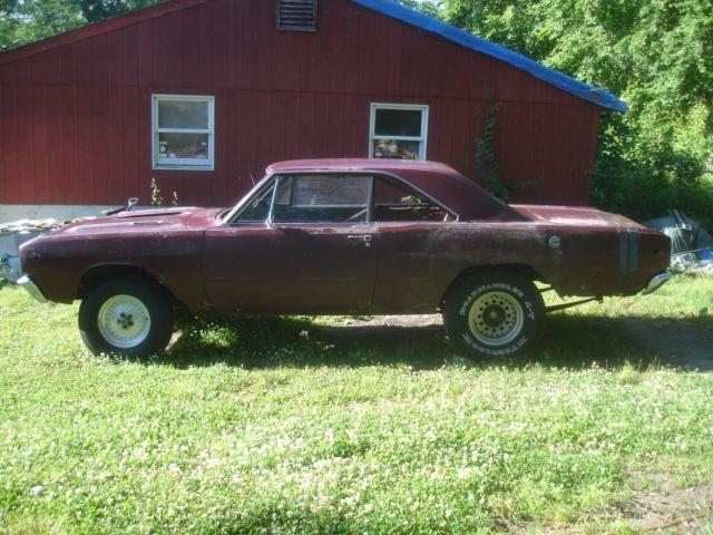 Rare 1968 Dodge Dart Gts Ex Drag Car Project For Sale Photos