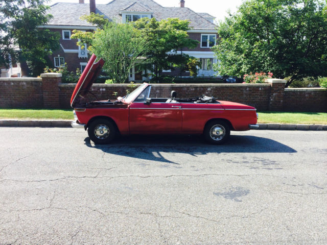 1969 BMW 2002 1602 Baur Convertible (1600)