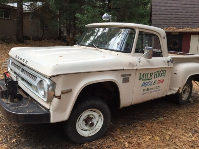 1970 Dodge Power Wagon POWER WAGON