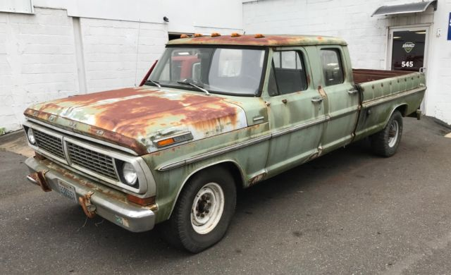 Rare 1970 Ford F350 Crew Cab For Sale Photos Technical