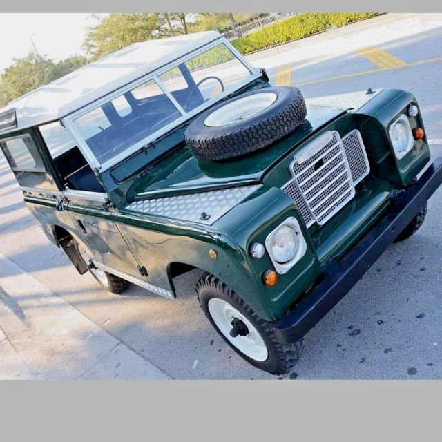 1971 Land Rover Defender Late model Series IIA