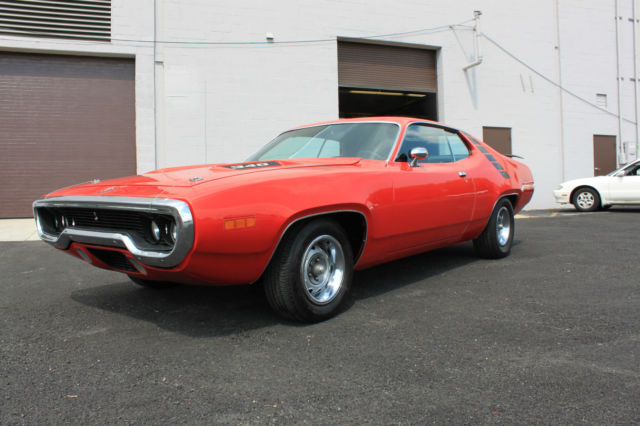 1971 Plymouth Road Runner MOPAR 1971 PLYMOUTH ROAD RUNNER