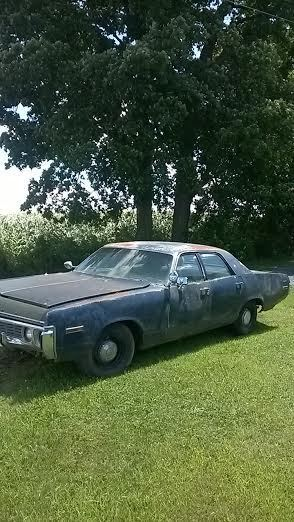 1972 Dodge Polara pursuit car