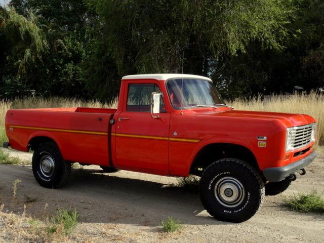 RARE 1975 International 150 4x4 Pickup (Heavy half ton), 36K