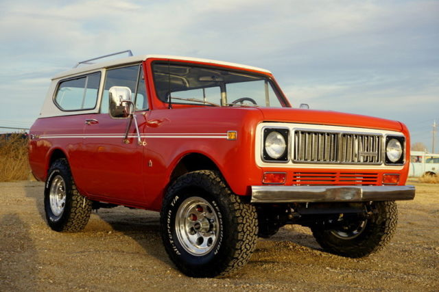 RARE 1975 International Harvester Scout II, Automatic, V8