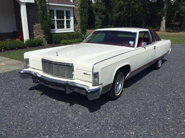 Rare 1976 2 Door Lincoln Town Coupe For Sale Photos Technical