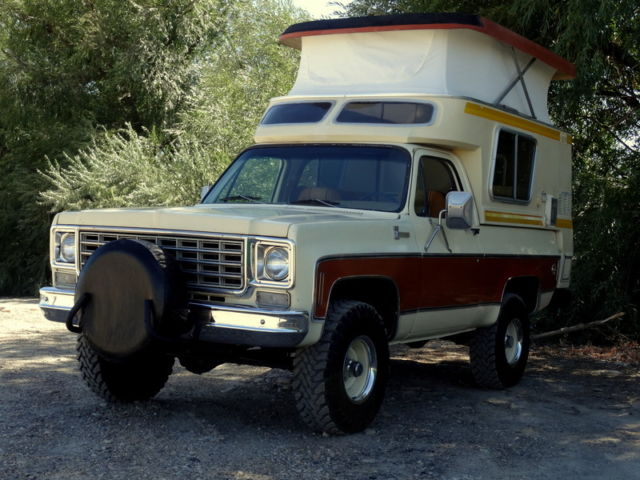 rare 1976 chevrolet blazer cheyenne 4x4 chalet edition. Black Bedroom Furniture Sets. Home Design Ideas