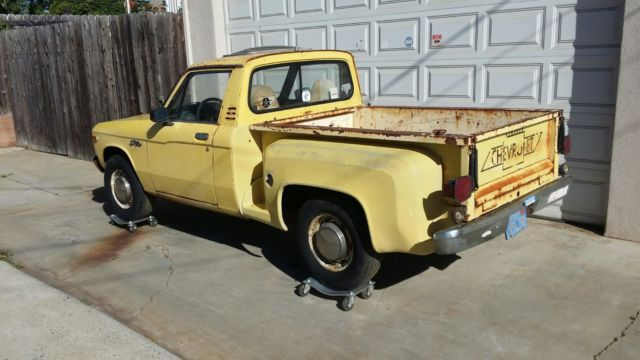 Rare 1976 Stepside Chevrolet Luv Truck For Sale Photos Technical