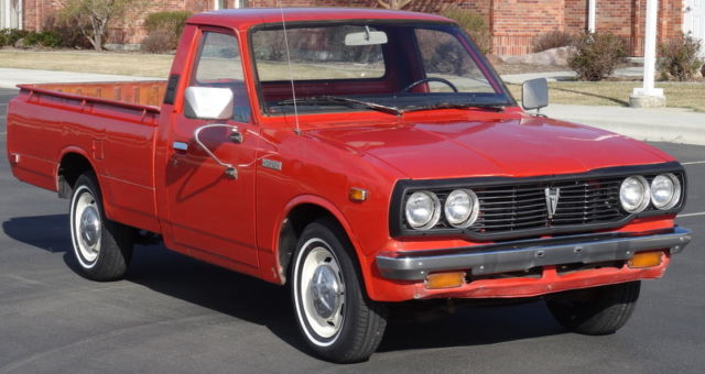 Rare 1978 Toyota Hilux Pickup 5 Speed All Original For