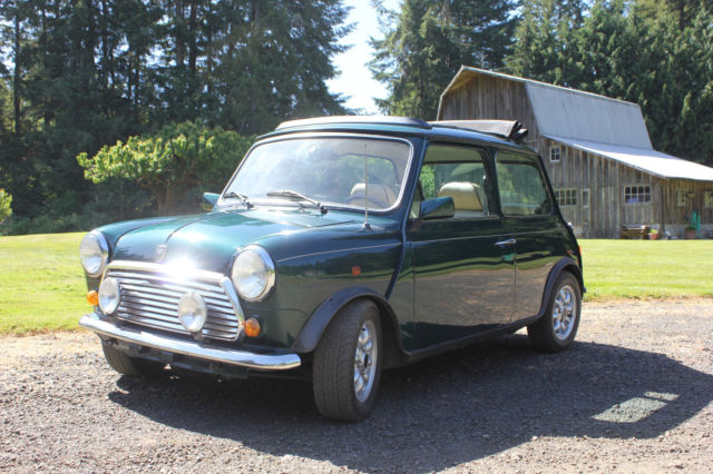 1979 Mini Classic Mini British Classic Open