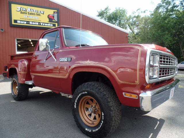 1979 Dodge Power Wagon Power Wagon Warlock II 4x4 Truck