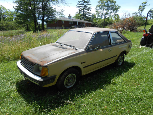 1981 Ford Escort Electrica