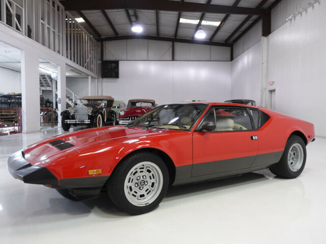 1983 De Tomaso Pantera Owned by Carroll Shelby