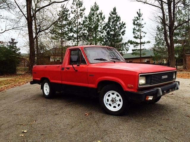1984 mazda b2000 sundowner se 5 standard cab pickup 2 door 2 0l for