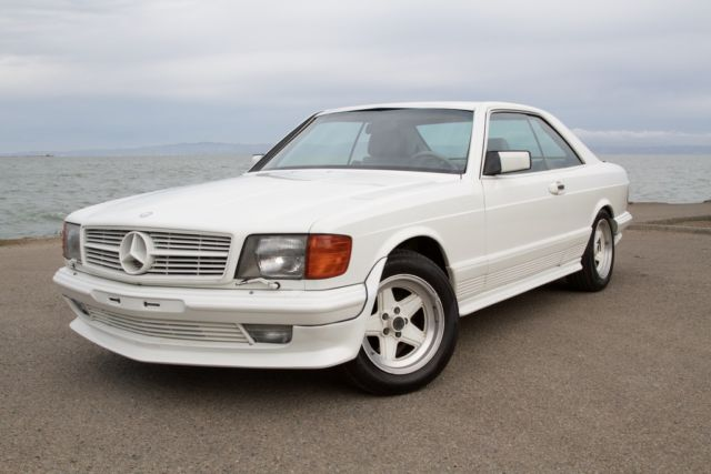 1984 Mercedes-Benz 500-Series Like 500 SEC, 560SEC, 126 AMG
