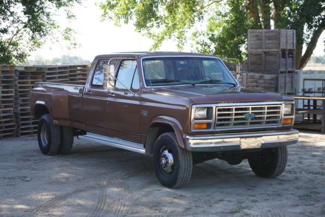 1985 Ford F-350 F350 XL Turbo Diesel