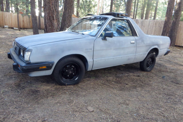 rare 1986 subaru brat awd a c t top split roof sliding. Black Bedroom Furniture Sets. Home Design Ideas