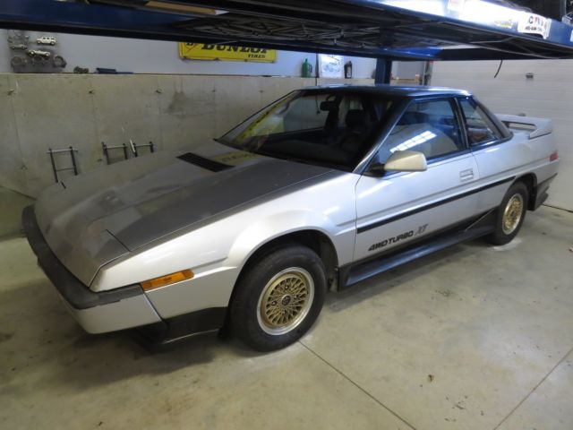 1986 Subaru XT AWD Turbo