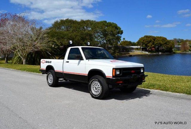 rare 1989 chevrolet baja edition s10 4x4 pickup 4 3l v6 automatic for sale photos technical. Black Bedroom Furniture Sets. Home Design Ideas