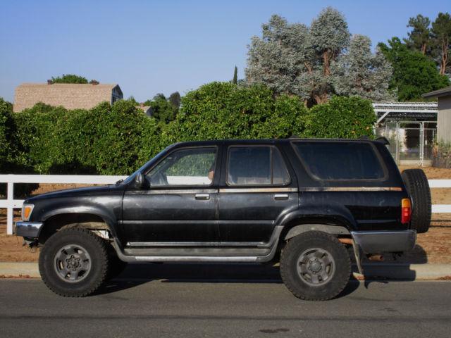 RARE 1990 TOYOTA 4RUNNER SR5 5 SPEED 4 WHEEL DRIVE V6 FULLY LOADED