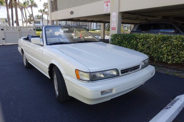 RARE 1992 INFINITI M30 CONVERTIBLE LOW MILES EXCELLENT CONDITIONS