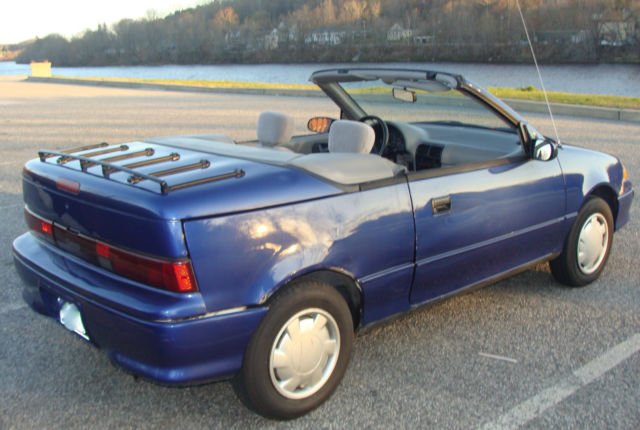 rare 1993 chevrolet geo metro lsi convertible automatic only rh topclassiccarsforsale com