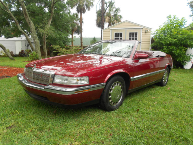 rare 1993 eldorado convertible 1 of 12 built for sale photos technical specifications description topclassiccarsforsale com