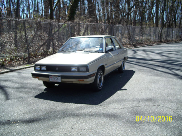 1984 AMC Alliance base