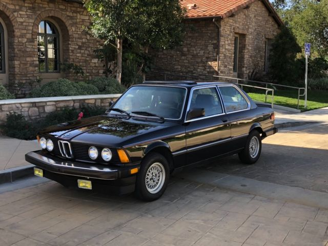 1982 BMW 3-Series S Package
