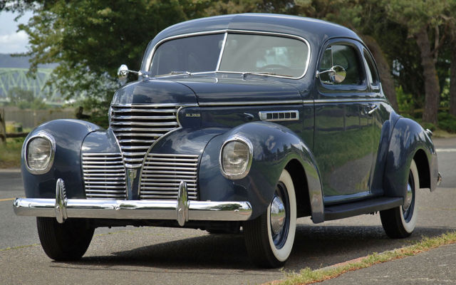 1939 DeSoto S-6 : Business Coupe :