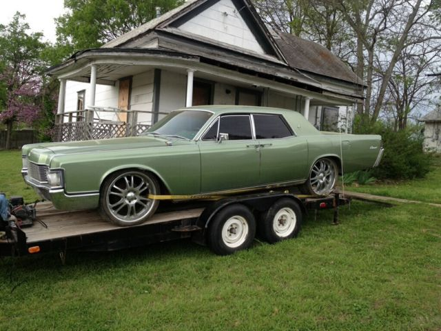 Rare 462 V8 Big Block 4door Suicide Lincoln Continental For Sale