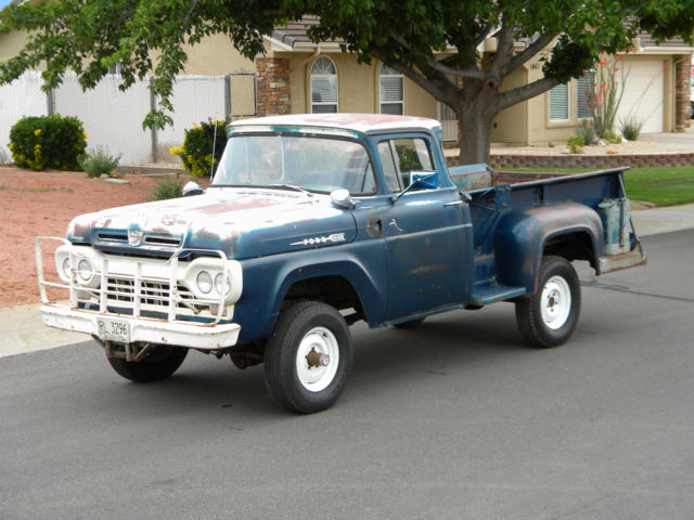 1960 Ford F-100 Four Wheel Drive Big Window