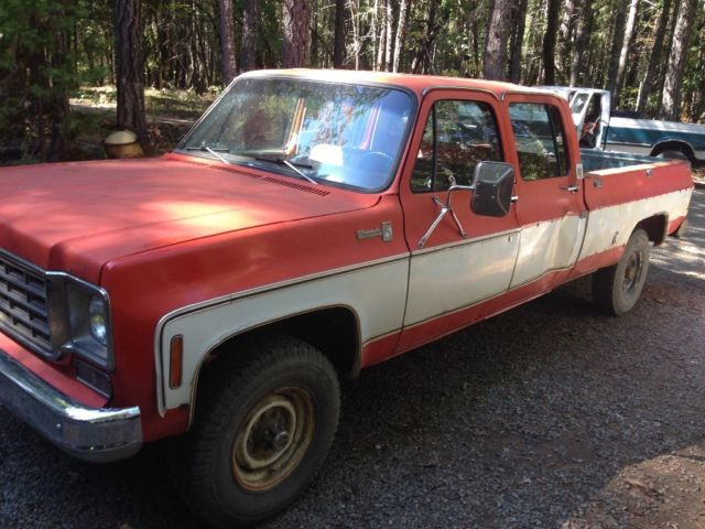 Rare 76 K20 crew cab for sale: photos, technical specifications