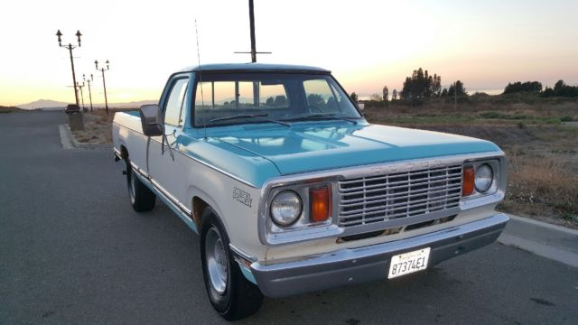 Rare 78 Dodge pick-up with original Mitsubishi sel engine for ...