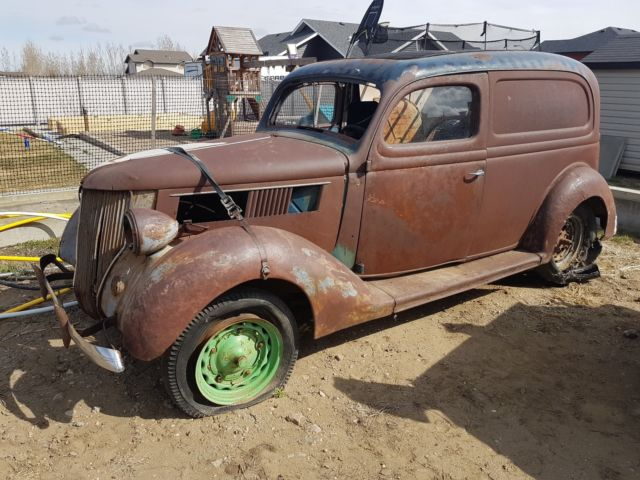 Rare Barn Find 1936 Ford Sedan Delivery For Sale Photos