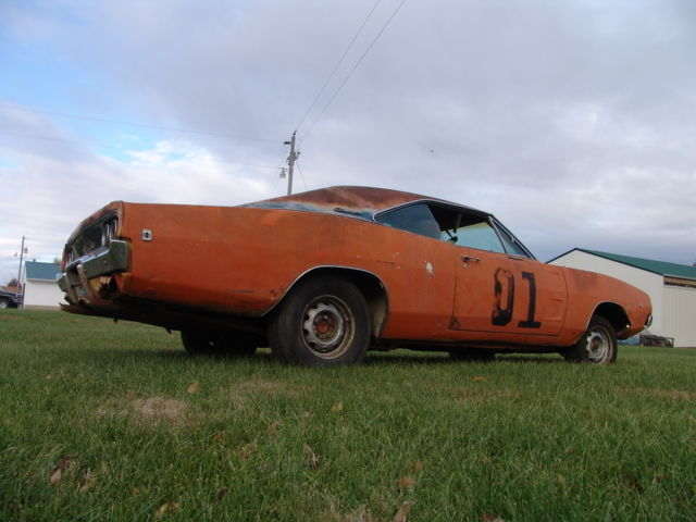 RARE BARN FIND NUMBERS MATCH BIG BLOCK CAR 90 PHOTOS GENERAL LEE PAINT SHARE TY