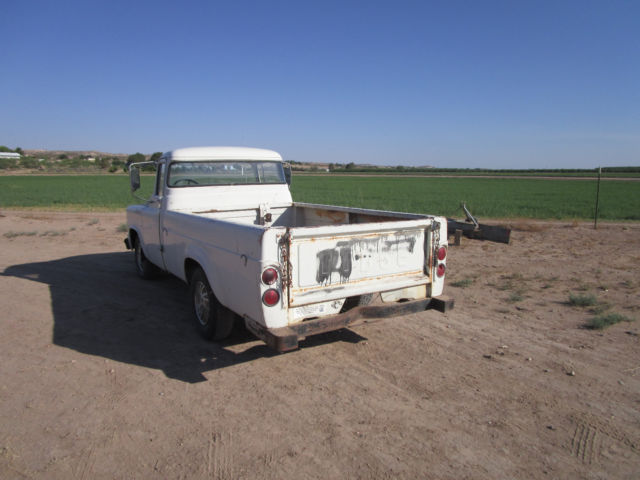 rare barn find vintage 1959 dodge d 100 longbed pickup truck for sale photos technical. Black Bedroom Furniture Sets. Home Design Ideas