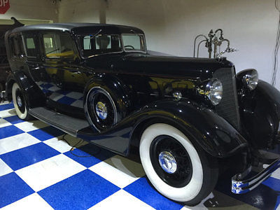 1934 Lincoln Judkins Berline 7 Passenger Sedan Unspecified