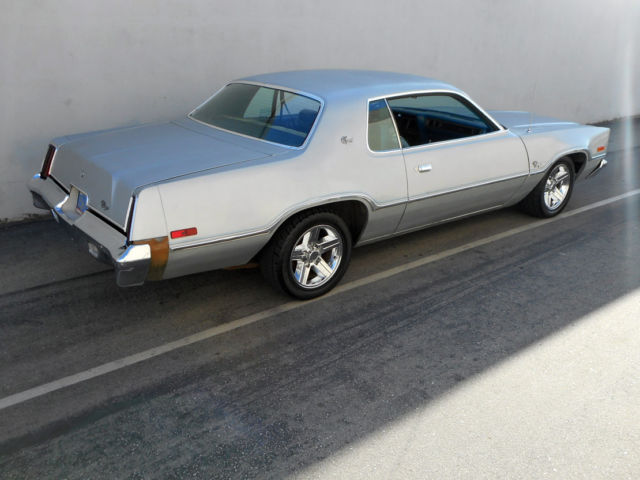 Rare Classic 1976 Dodge Charger Sport Rust Free Blue