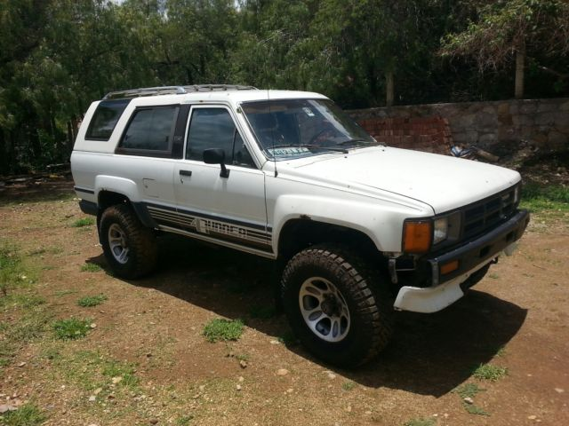 Rare Classic 1986 Toyota 4Runner 4x4 22RE South Texas Collectible Vintage