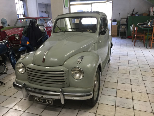 rare collectible car 1954 fiat topolino 32000 italy for sale photos technical. Black Bedroom Furniture Sets. Home Design Ideas