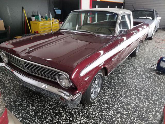 rare collector 1965 deluxe ford falcon ranchero 289