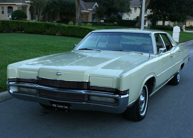 1969 Mercury Grand Marquis SURVIVOR - RARE COLOR - 42K MILES